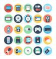 Communication Flat Icons 3 vector image