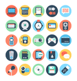 Communication Flat Icons 3 vector image