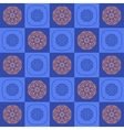 The geometric pattern of square shapes and vector image