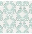 Vintage Floral Baroque Damask Pattern vector image