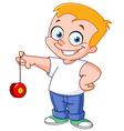 yo yo kid vector image