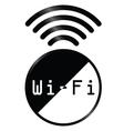 WiFi symbol vector image vector image