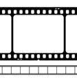 blank 35mm film strip vector image