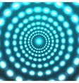 glowing circle background Eps10 vector image