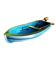 Rowing Boat vector image
