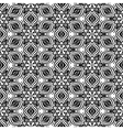 Abstact kaleidoscopic seamless pattern in black vector image vector image