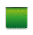 Empty ribbon green vector image