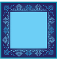 vintage frames version blue version vector image