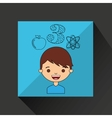 young students design vector image