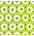 Ikat circles ethnic seamless pattern vector