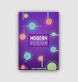 modern design futuristic cover vector image