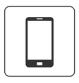 Phone mobile icon Smartphone 1 vector image