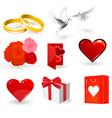 Wedding Day Set vector image