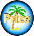 New prize logo vector image vector image