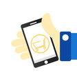 Mobile marketing icons vector image