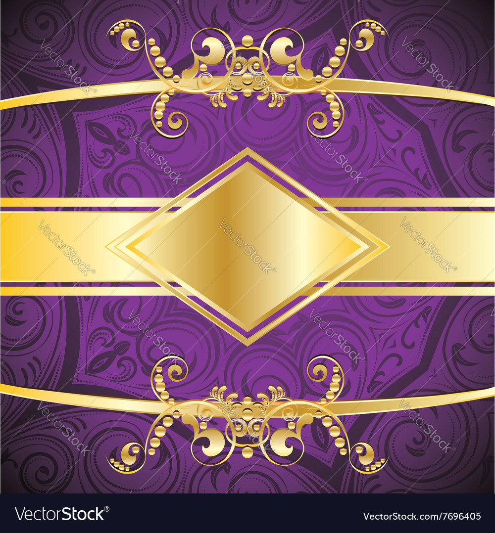 Purple decorative background2 vector