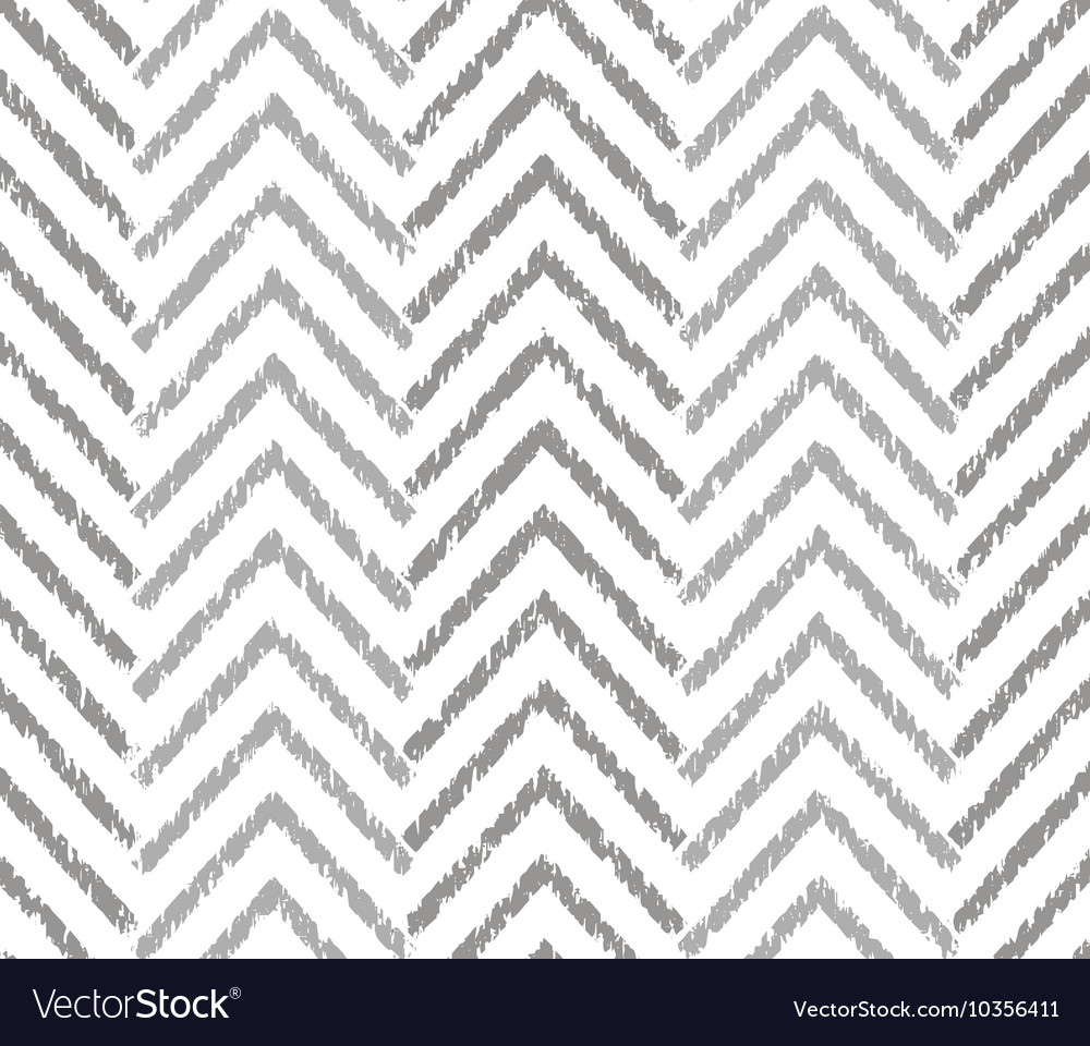 Gray zigzag grunge pattern vector