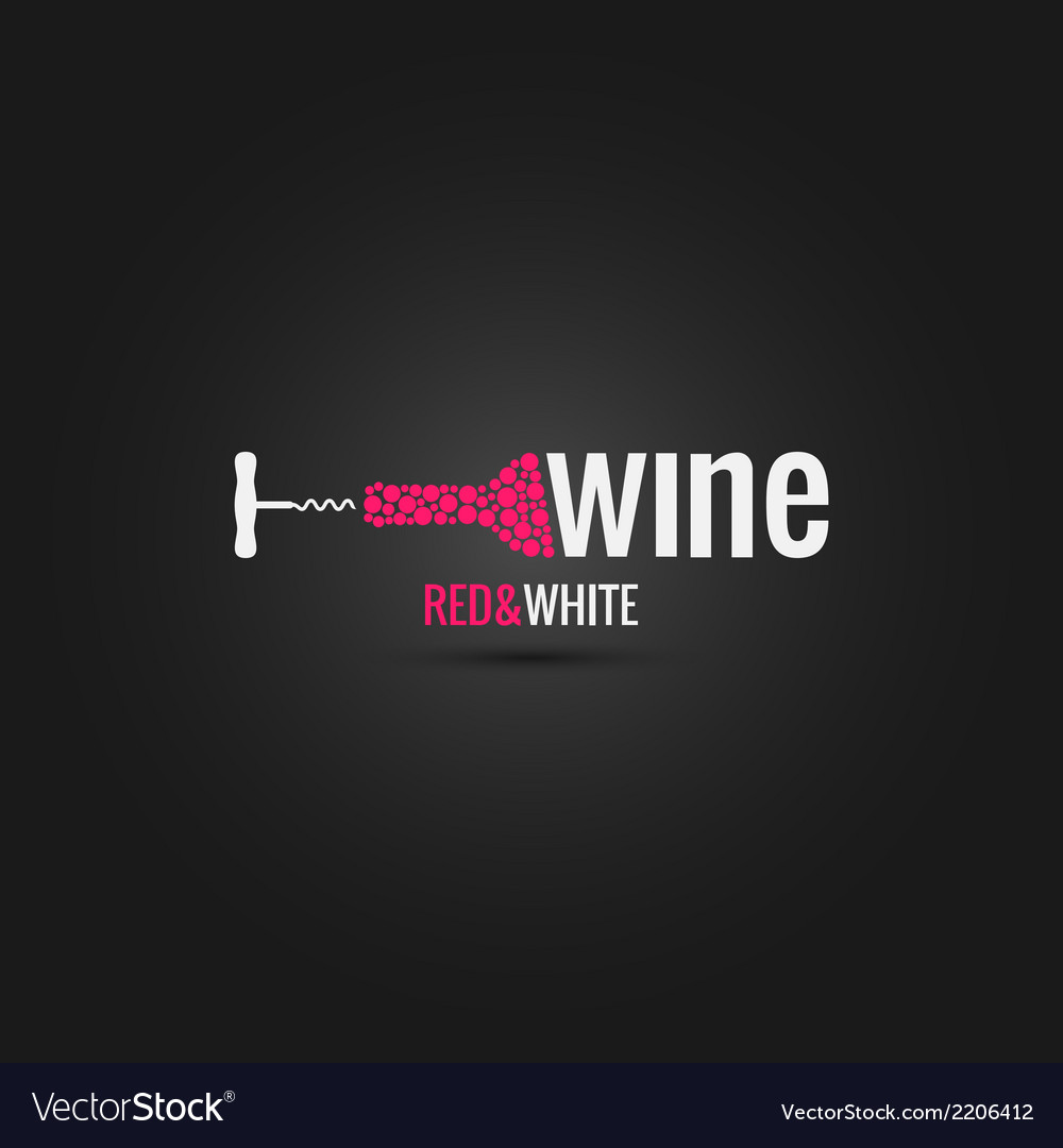Wine cellar bottle design background vector