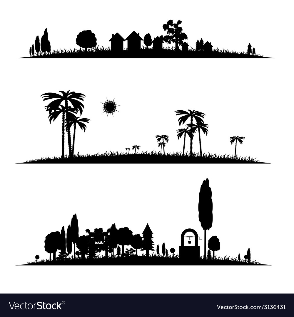 Different landscape vector
