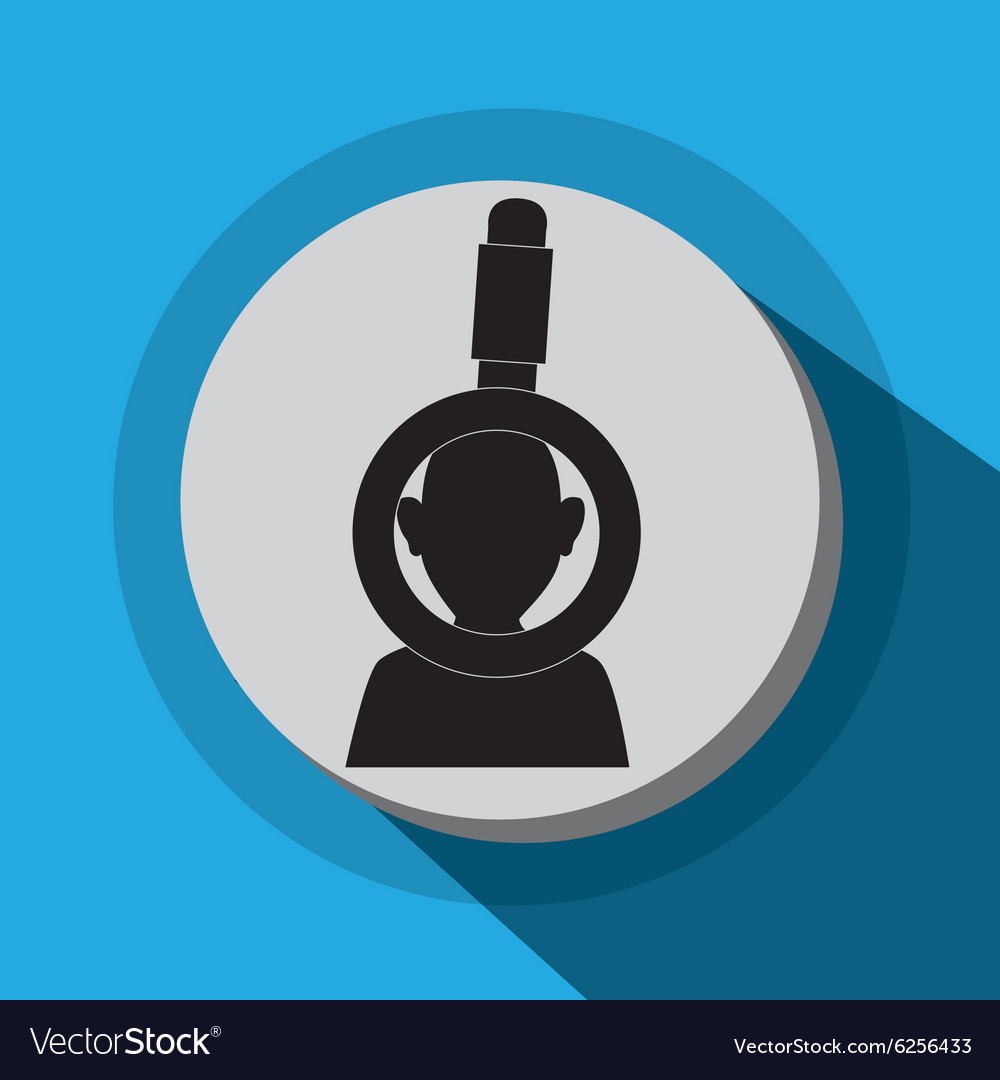Businessmen profile icon vector