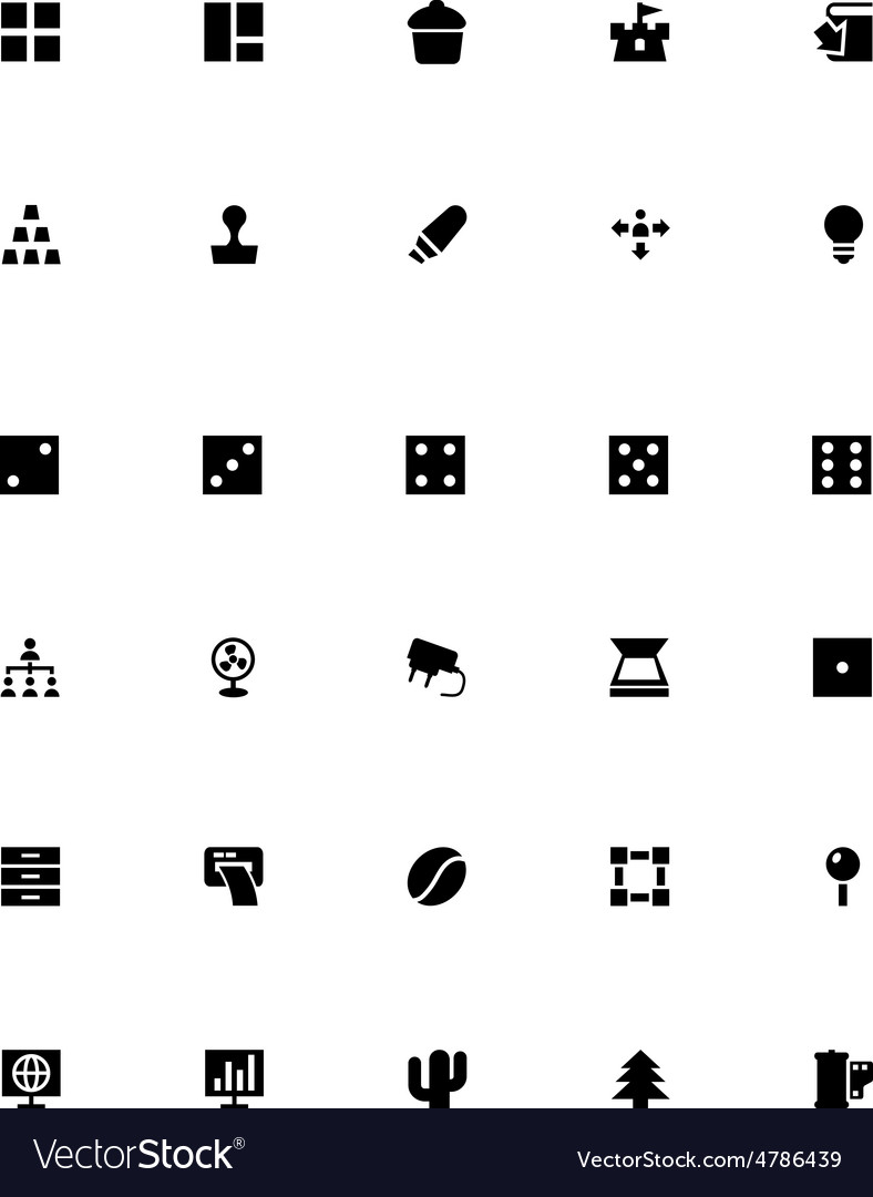 Mini icons 14 vector