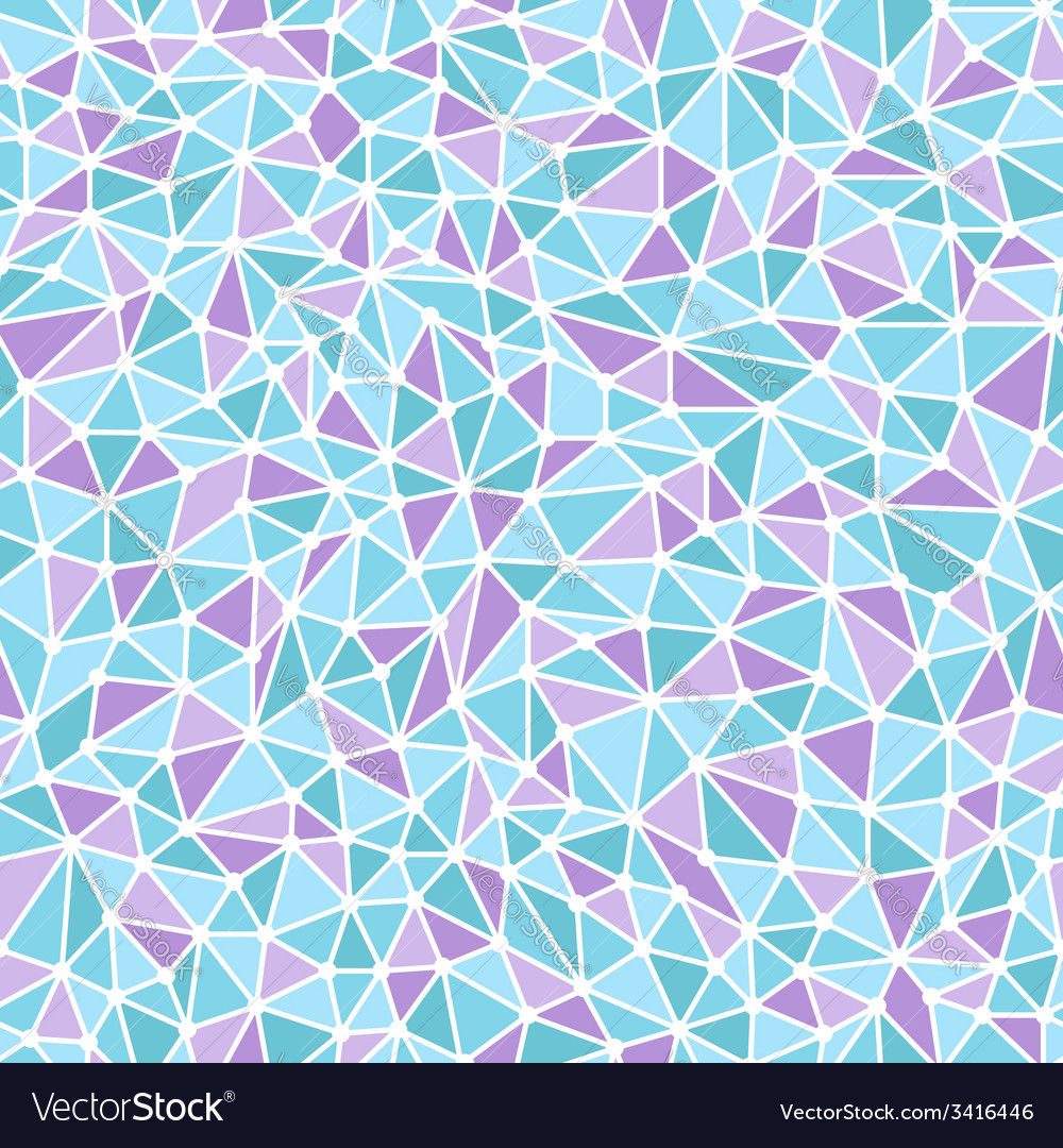 Triangle seamless pattern vector