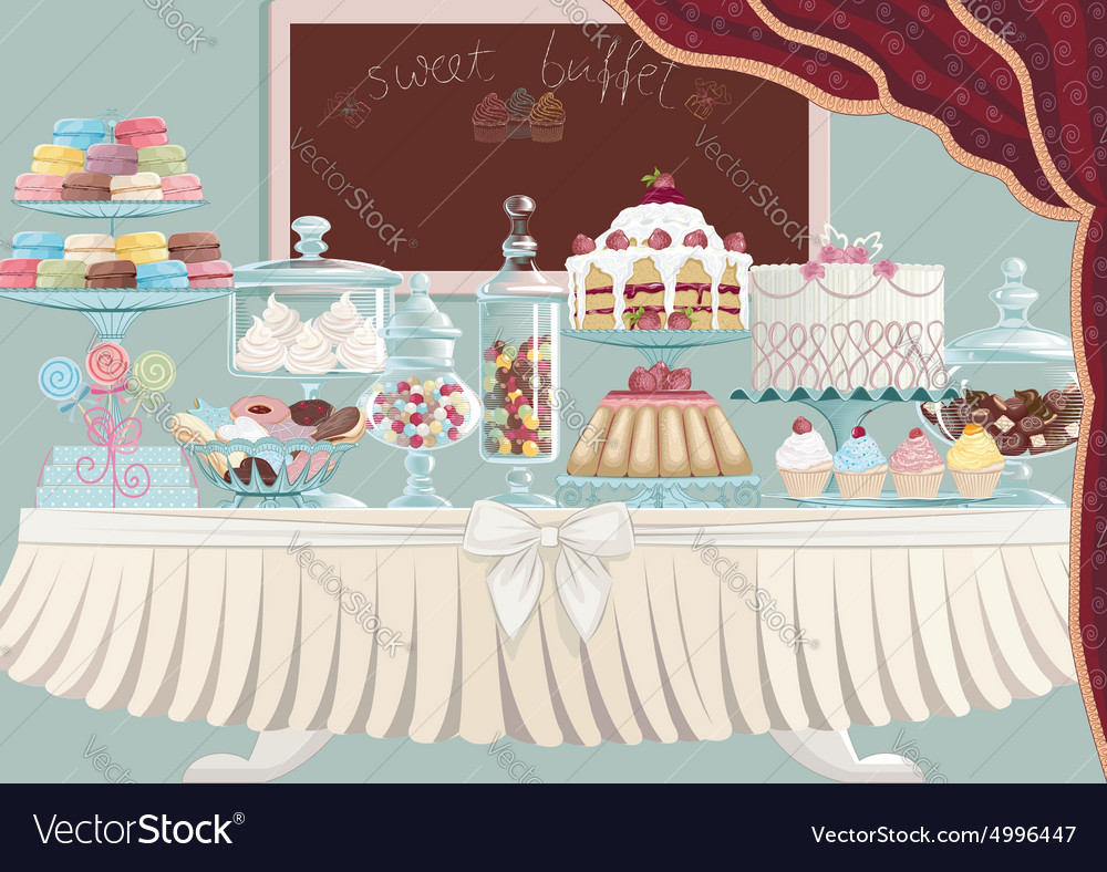 Sweet treats vector