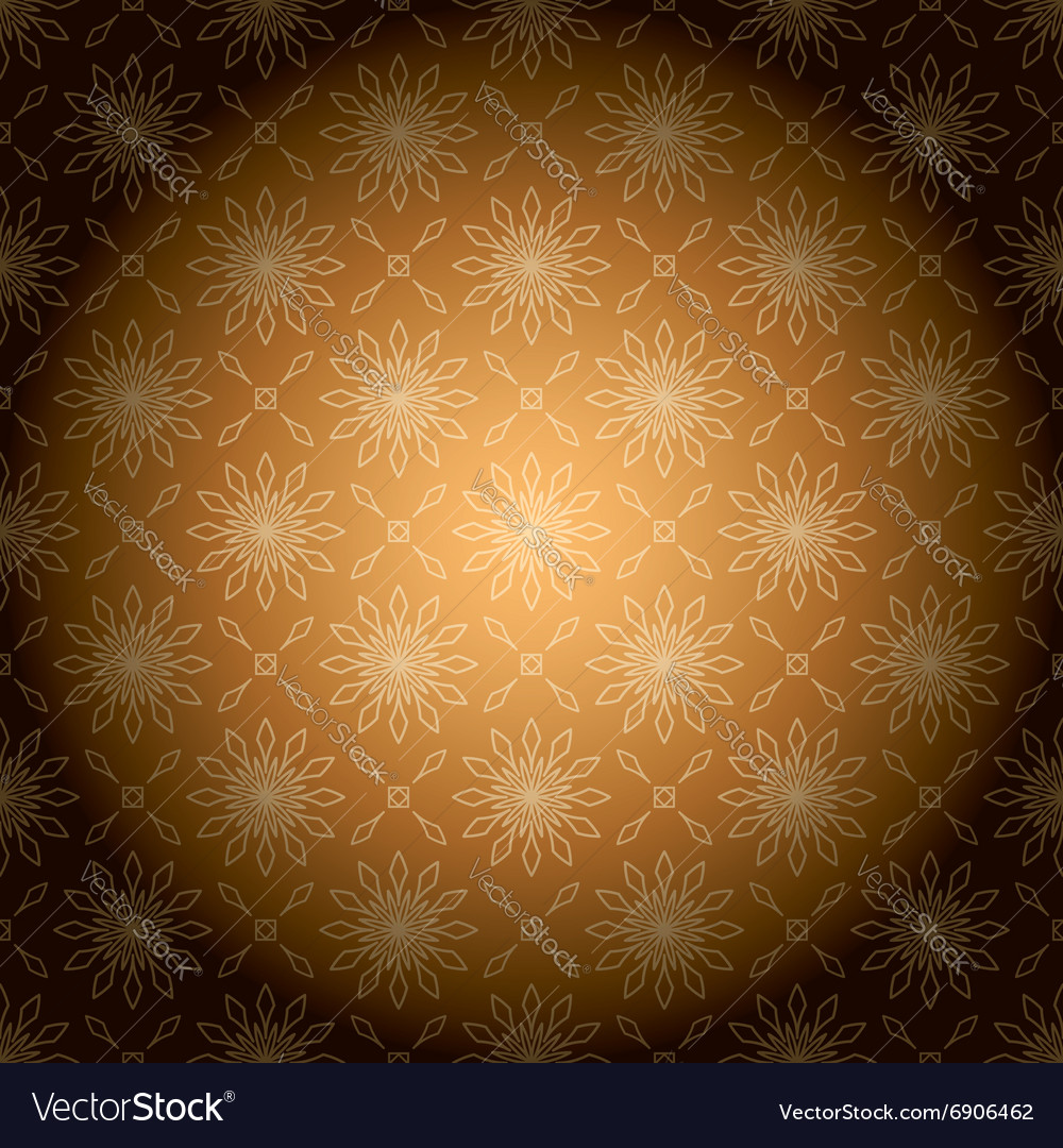 Brown vintage background with radial gradient vector