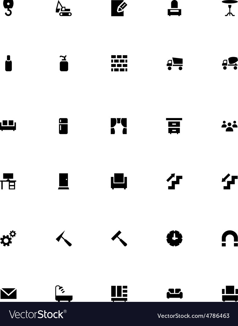 Mini icons 22 vector