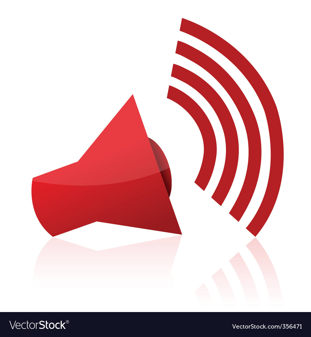 Sound icon vector