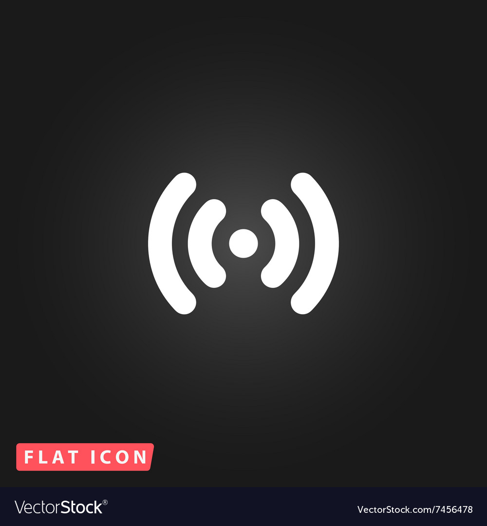Wifi network icon vector