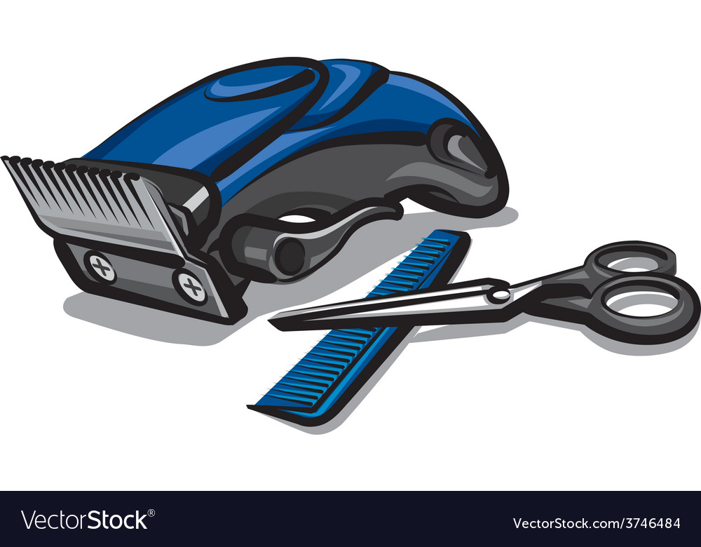 Hairclipper vector