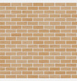 brick wall background classic texture vector image