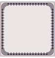 frame vintage pattern geometric vector image vector image