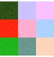 pixel backgrounds set of different colors vector image