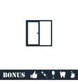 Window icon flat vector image