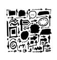 Arrows sketch for your design vector image