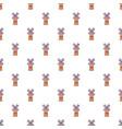 Farm windmill pattern seamless vector image
