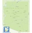 USA Arizona Small vector image