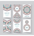 Trend vintage business card vector image