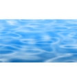 Blue pool vector image vector image