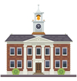 School or university building vector image