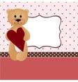 Wedding greetings card vector image