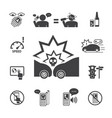 do not use your phone while driving icons set for vector image