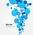 water bubble vector image