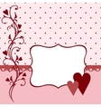 Wedding greetings card vector image