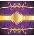 Purple Decorative Background2 vector image