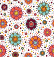 background with circles and dots vector image