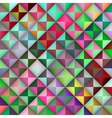 Seamless Multicolor Gradient Triangle Tiles vector image