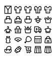 Clothes Icons 14 vector image